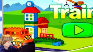 Lego Duplo Train Game - Cartoon About trains - Train for Kids - Dibujos animados sobre tren thumbnail