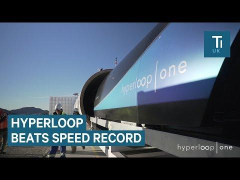 Virgin Hyperloop One just broke its speed record
