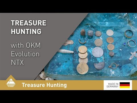 Treasure hunting with Evolution NTX on a dry bank