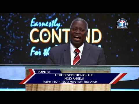 The Ministry Of Angels To Believers Today (Leadership Development) With Pastor Kumuyi