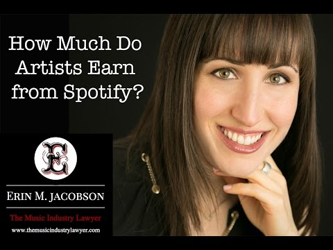 How Much Do Artists Earn from Spotify?  Erin M. Jacobson, Esq. explains