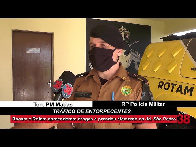 TRAFICANTE É PRESO COM 300 GRAMAS DE MACONHA EM APUCARANA