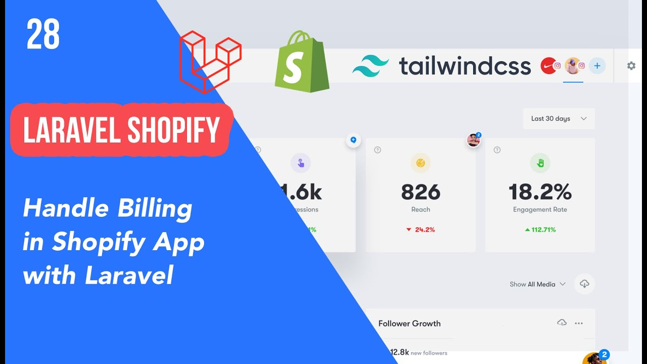 28 - Handle Billing in Shopify App with Laravel