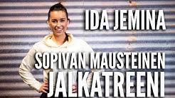 Sopivan mausteinen jalkatreeni - Fitnessvalmentaja Ida Jemina (Treenivideo) | Tikis - Parempi olla