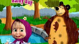 c b siu quậy v ch gấu xiếc đi chơi giữa trời mưa
