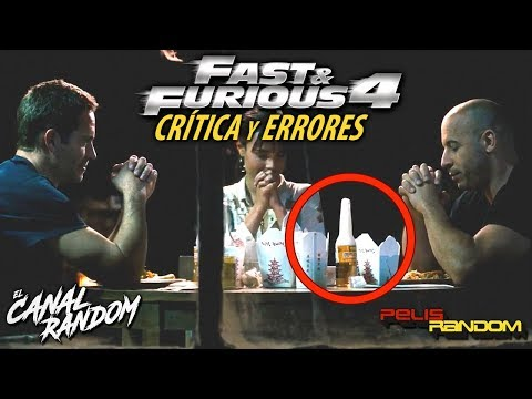 Movie Mistakes Fast and Furious 4 (Spanish Audio)
