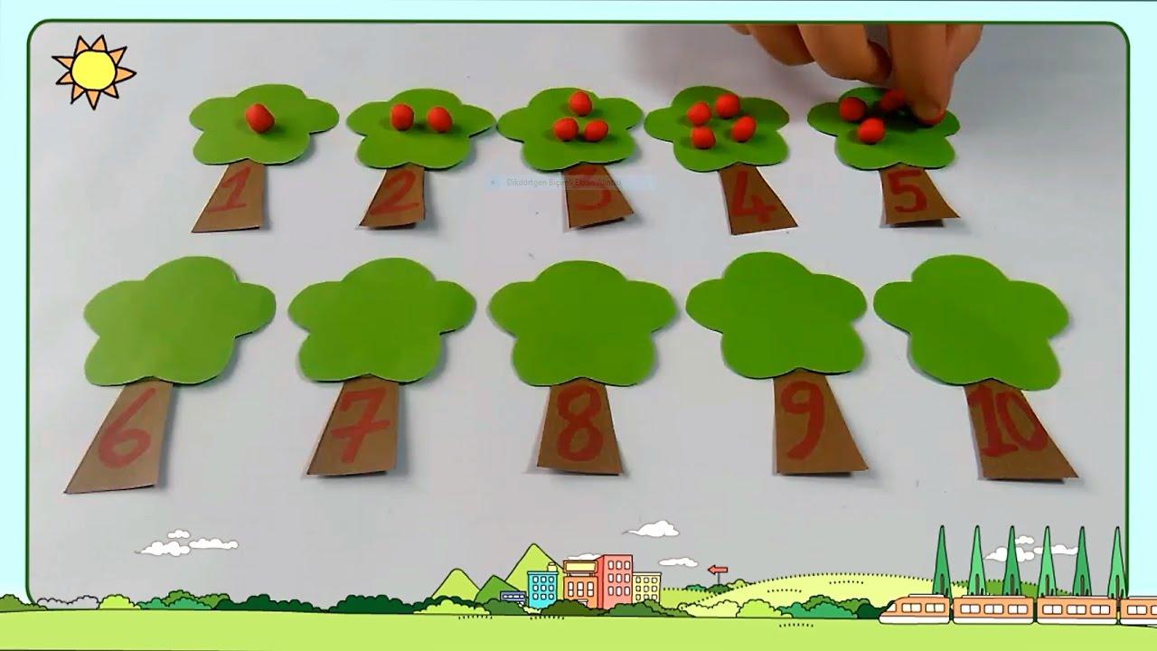 Sayılar Okul öncesi Etkinlik Eğitici çizgi Film Oyun Hamuru Oyun