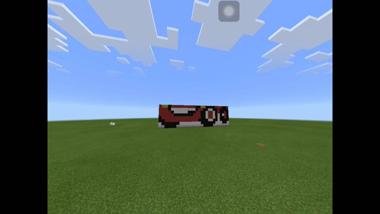 Minecraft Pe Pixel Art Disney Pixar Cars Lightning