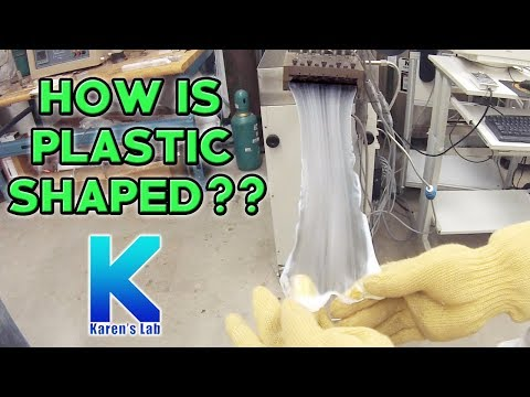 Plastic Extrusion Process |Creativity & Innovation | Karen's Lab