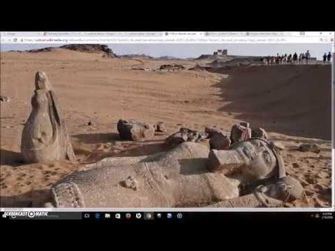 The Ruins Of The Temple Of Wadi al-Sabua