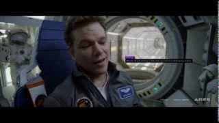 The Martian Clip Sneak Peek Backstage Clip Matt Damon Trailer