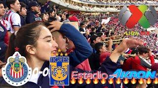 CHIVAS VS TIGRES 0-0 EMPATE MUY PELEADO!! RESUMEN JORNADA 12 LIGA MX