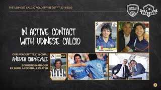 Udinese Academy in Egypt 2019-2020