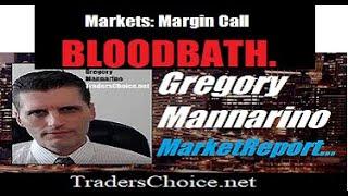 Meltdown: STOCK MARKET BLOODBATH.. By Gregory Mannarino