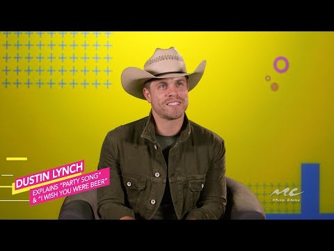 """Dustin Lynch Sheds Details On """"I Wish You Were Beer"""" And More"""