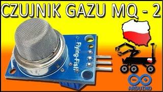 Czujnik gazu do arduino! Jak podłączyć i wykorzystać!