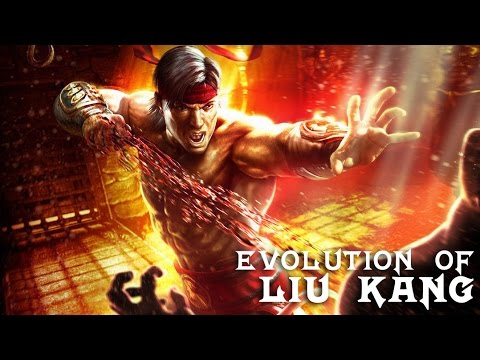Evolution of Liu Kang in Mortal Kombat (1992-2017)