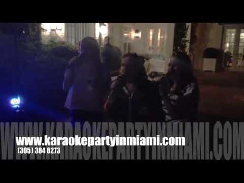 Karaoke for rent Miami, Boca Raton, West Palm, Weston, Kendall, Pine Crest, The Keys, Wellington