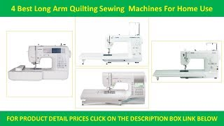 4 Best Long Arm Quilting Sewing Machines | Purchase to Use a Custom Quilt Sewing Machines Reviews