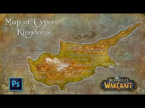 Photoshop world of warcraft styled map of cyprus timelapse youtube photoshop world of warcraft styled map of cyprus timelapse publicscrutiny Gallery