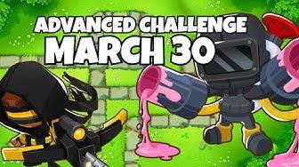 BTD6 Advanced Challenge - Mad Monkeys - March 30, 2020