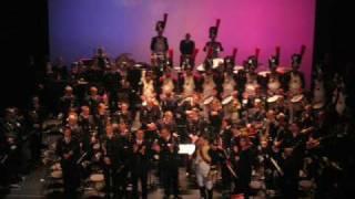 Musique BSPP et Tambours BGHA : La marche des bonnets à poils