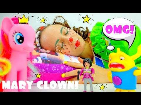 Funny videos for kids & kid's games with clown.