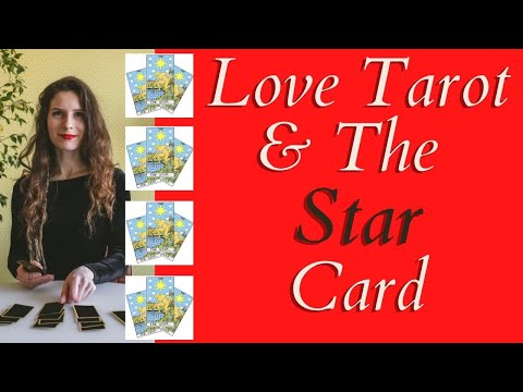 Love Tarot and The Star Card ❤ The  Card Of Hope And Optimism
