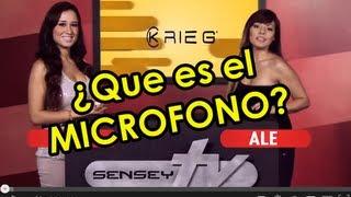 ¿Que es el Mícrofono? - Sensey TV