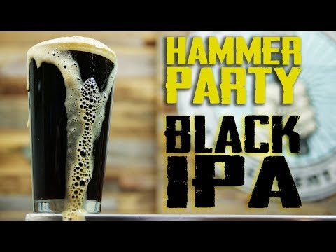 Black IPA Homebrew Beer Recipe