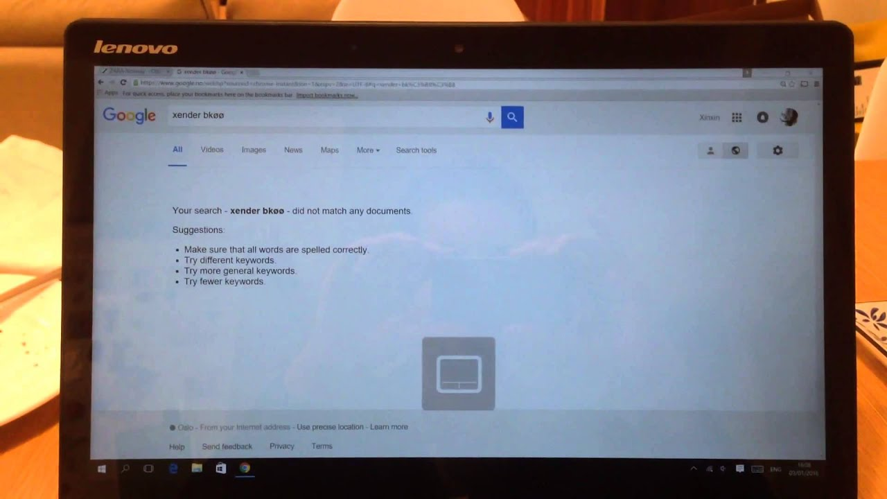Lenovo Yoga Touch Display Problems