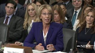 Betsy DeVos Cites Grizzlies Over Guns in Schools Question