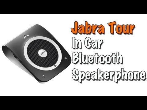 Jabra Tour: In-Car Bluetooth Speakerphone