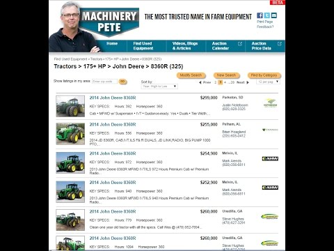 Machinerypete.com - New Place To Shop For Used Farm Equipment