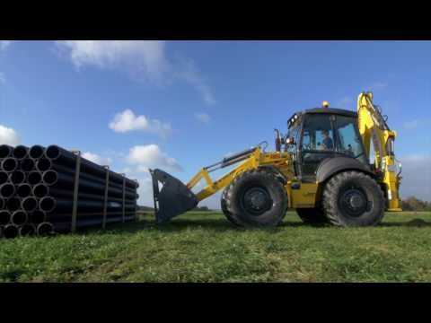 New C Series Tier 4B Tractor Loader Backhoe | New Holland Agriculture