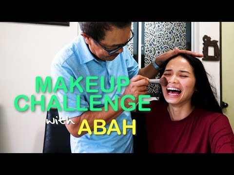 Makeup Challenge with Abah