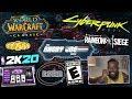 AJS News - Gambling in NBA2K20 Reaction, ESRB Ratings Failure, Cyberpunk Deep Dive & WOW Classic!