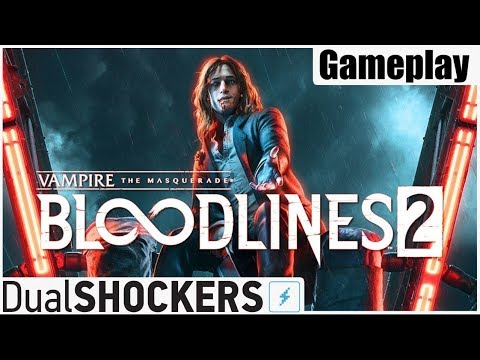 The Masquerade Bloodlines 2 - 20 минут игрового процесса