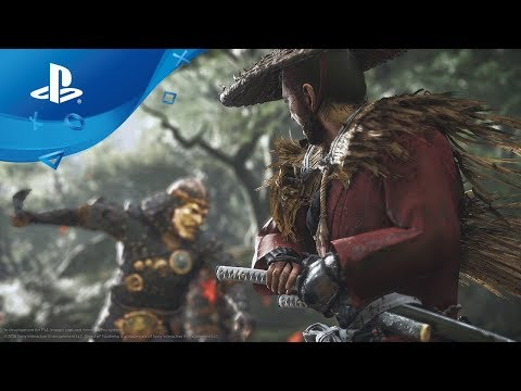 Ghost of Tsushima: Gameplay Debut Trailer [PS4] E3 2018