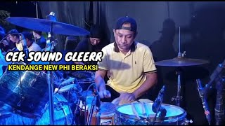 cek sound new phi music kekinian//kendange new phi beraksi!!