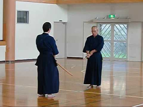 ①木刀による剣道基本技稽古法 指...