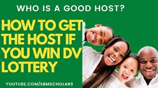 HOW TO GET A HΟST AFTER WINNING DV LOTTERY | Who is a good host? What things you should be aware of