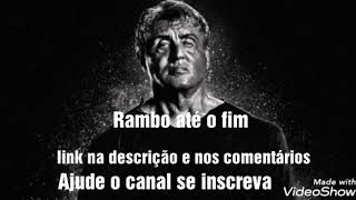 Rambo: até o fim filme completo