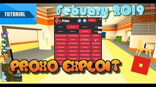ROBLOX LEVEL 7 EXPLOIT | Proxo Hack | NEW Feb 18 2019! | Tutorial 😃👓