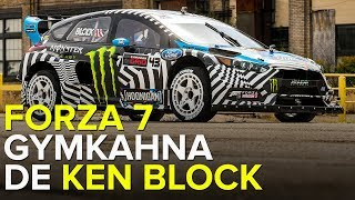 GYMKAHNA DE KEN BLOCK EM LONG BEACH - FORZA 7