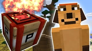 Minecraft FART BOMB OF DOOM CHALLENGE Custom Mod Challenge S8E40