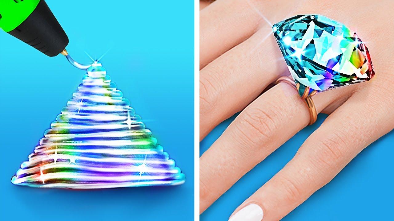 Download Beste DIY-sieradenideeën    3D-pen & epoxyhars creaties