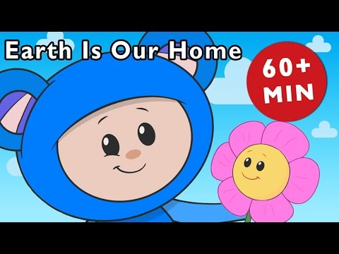 E Is for Earth  Earth Is Our Home and More  Nursery Rhymes from Mother Goose Club!