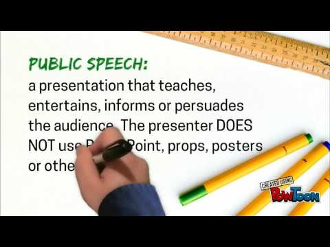 Part 2: Types of Presentations