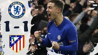 Chelsea vs Atletico Madrid 1-1 ● All Goals (05/12/2017) HD